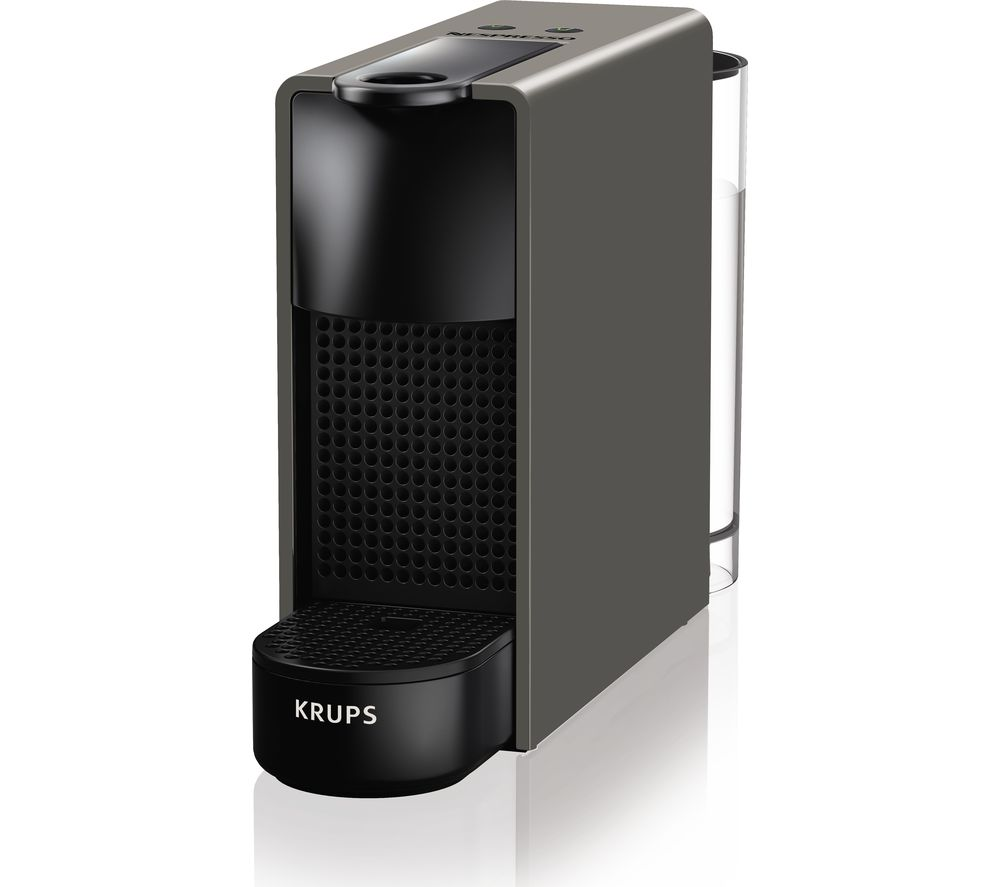 NESPRESSO by Krups Essenza Mini XN110B40 Coffee Machine - Grey