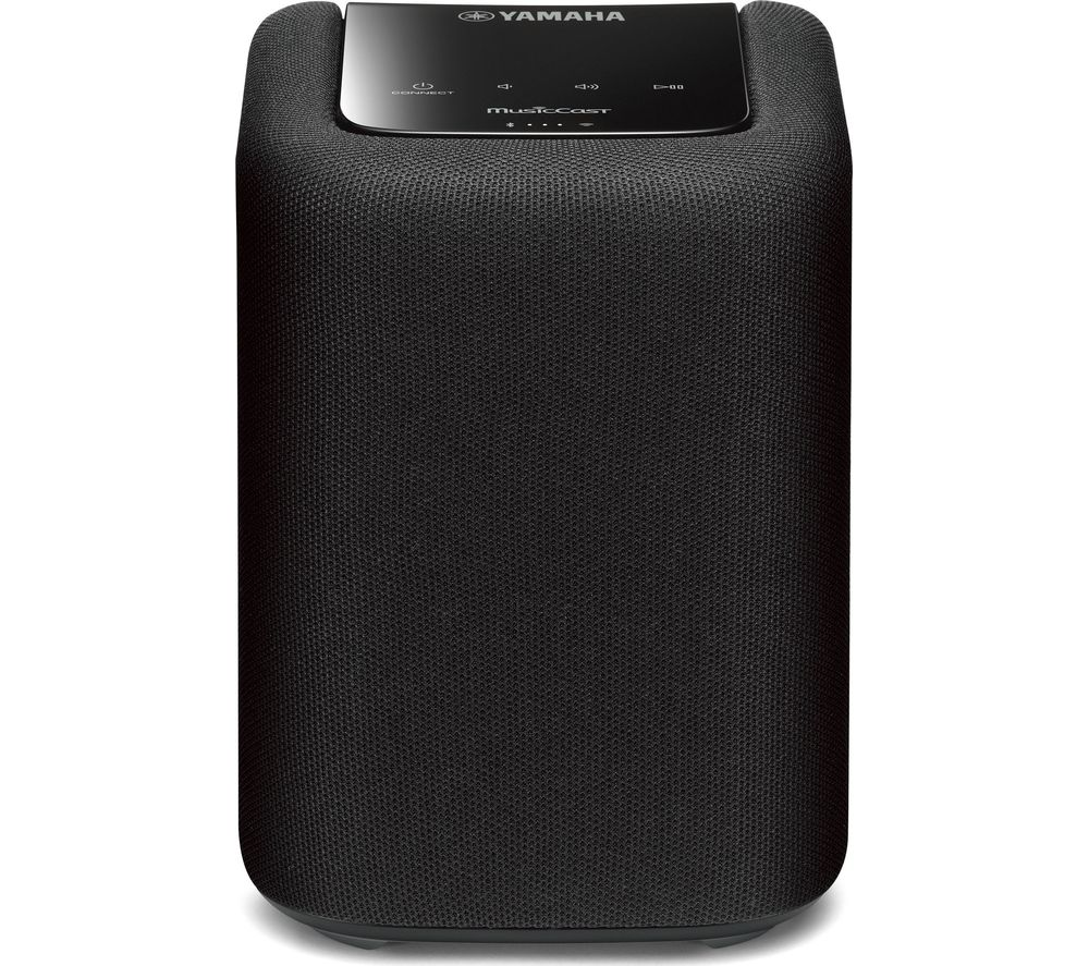 YAMAHA WX-010 Bluetooth Wireless Smart Sound Speaker - Black