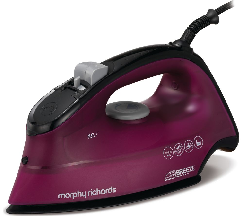MORPHY RICHARDS Breeze 300279 Steam Iron - Mulberry