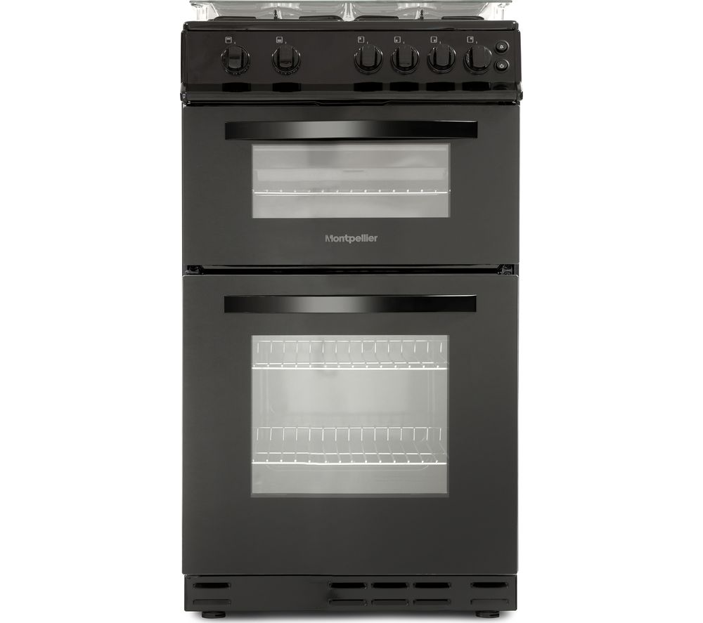 MONTPELLIER MDG500LK 50 cm Gas Cooker - Black
