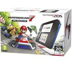 NINTENDO 2DS & Mario Kart 7 - Blue & Black