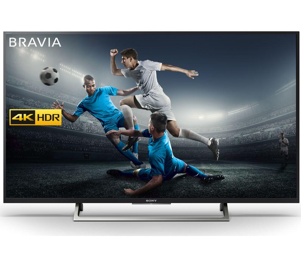 "SONY BRAVIA KD43XE7002 43"" Smart 4K Ultra HD HDR LED TV + HT-CT290 2.1 Wireless Sound Bar"