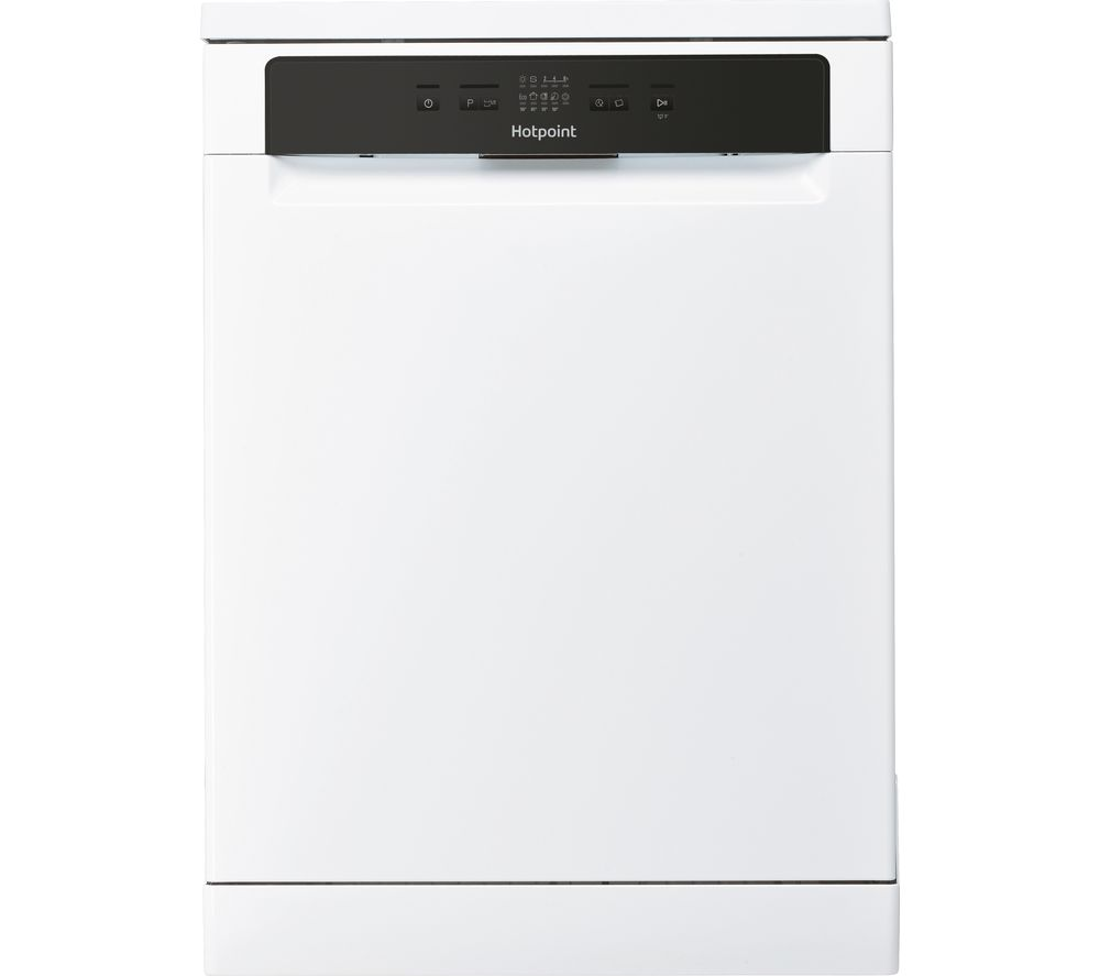 HOTPOINT HDFC 2B+26 UK Full-size Dishwasher - White