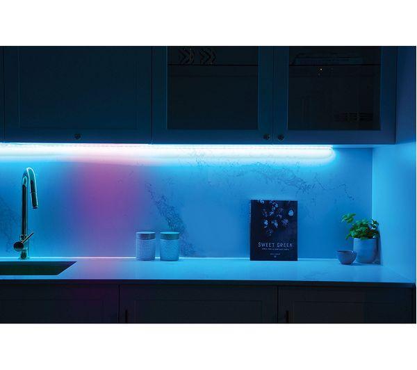 Buy lifx z led light strip extension 1 m colour 1000 smart rgb lifx z led light strip extension 1 m colour 1000 smart rgb light bulb aloadofball Choice Image