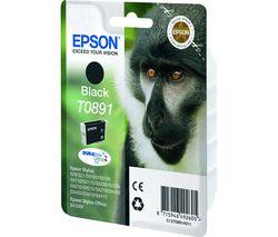 EPSON Monkey T0891 Black Ink Cartridge
