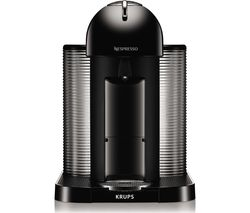 NESPRESSO by Krups Vertuo XN901840 Coffee Machine - Black