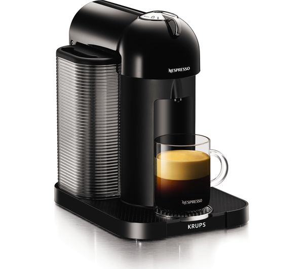 buy nespresso by krups vertuo xn901840 coffee machine black free delivery currys. Black Bedroom Furniture Sets. Home Design Ideas