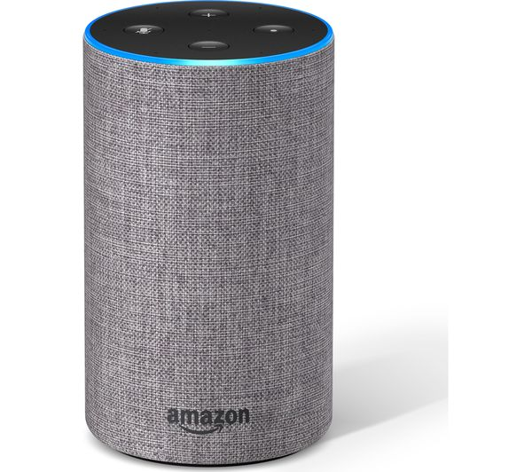 Image of AMAZON Echo - Heather Grey Fabric