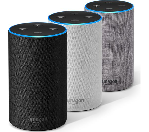 Buy Amazon Echo Heather Grey Fabric Free Delivery Currys