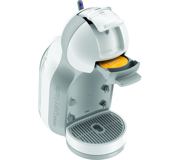 buy dolce gusto by krups mini me kp120140 coffee machine white arctic grey free delivery. Black Bedroom Furniture Sets. Home Design Ideas