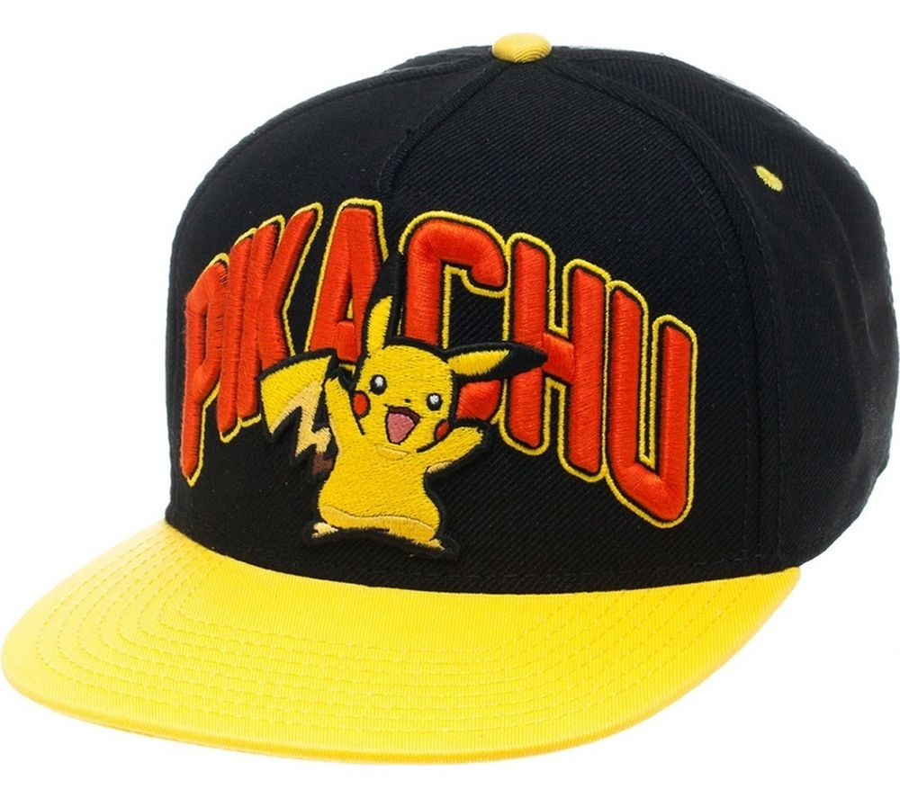 Compare retail prices of Pokemon Pikachu Snapback Cap to get the best deal online