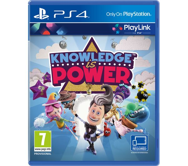 Image of SONY Knowledge is Power