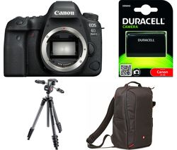 CANON EOS 6D Mark II DSLR Camera - Black, Body Only