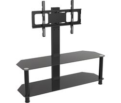 AVF SDCL1140BB 1140 mm TV Stand with Bracket - Black
