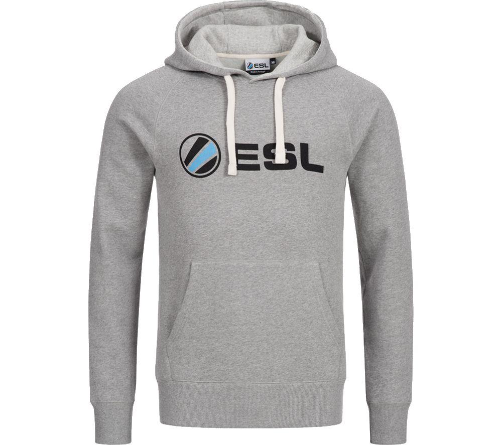 ESL Basic Hoodie - Small, Grey