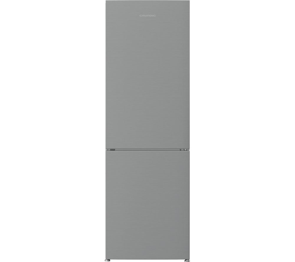 GRUNDIG GKNG1682N 60/40 Fridge Freezer - Brushed Steel, Brushed Steel