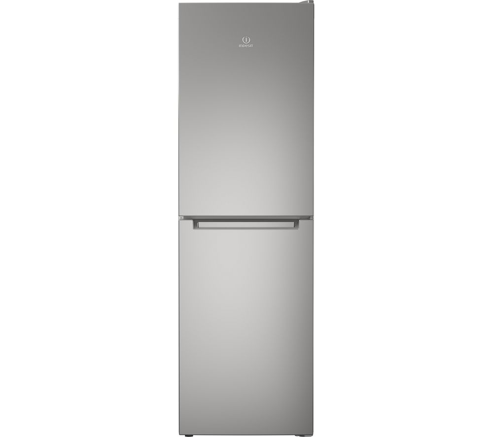 INDESIT LD85 F1 S.1 50/50 Fridge Freezer - Silver, Silver