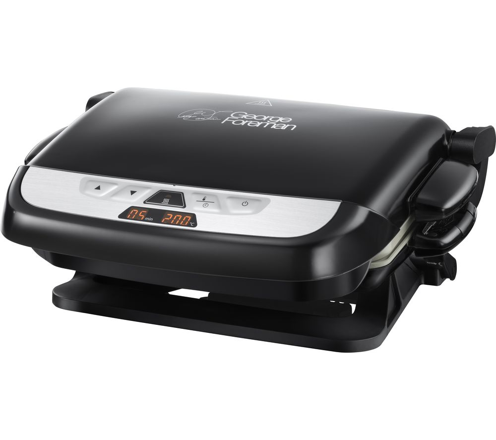 GEORGE FOREMAN Evolve 21610 Family Grill - Black, Black
