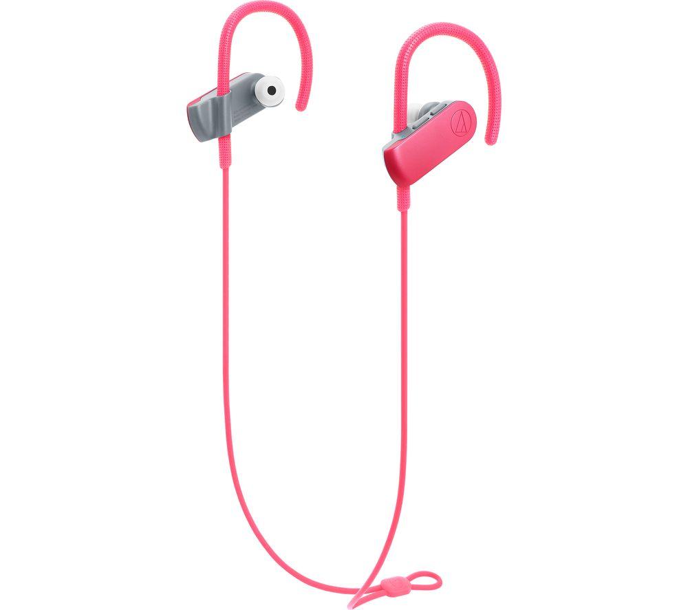 AUDIO TECHNICA SonicSport ATH-SPORT50BTPK Wireless Bluetooth Headphones specs