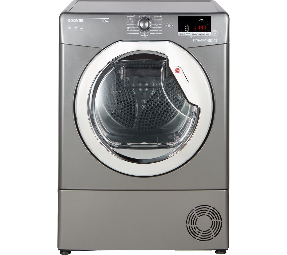 HOOVER Dynamic Next DX C10DCER NFC 10 kg Condenser Tumble Dryer - Graphite
