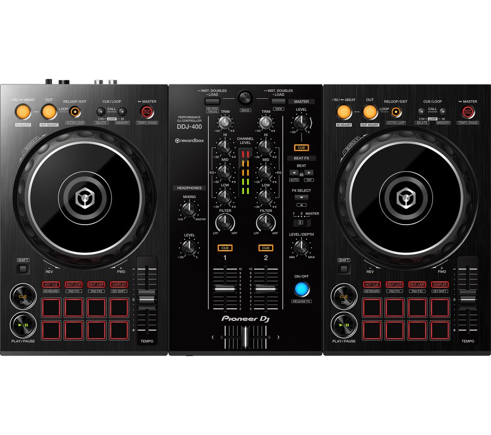 PIONEER DDJ-400 2-channel DJ Controller - Black