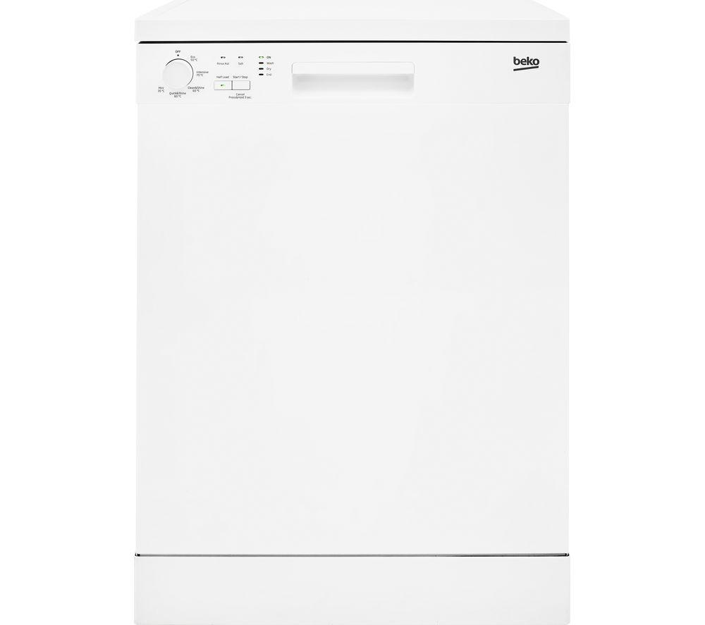 BEKO DFN05310W Full-size Dishwasher - White, White