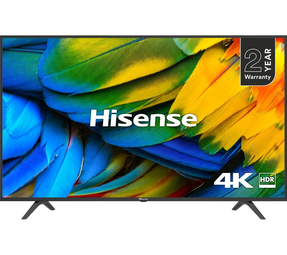 """HISENSE H43B7100UK 43"""" Smart 4K Ultra HD HDR LED TV"""