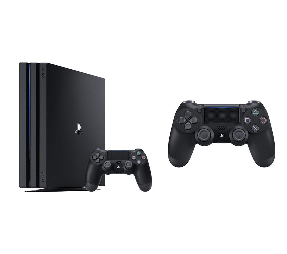 SONY PlayStation 4 Pro & DualShock 4 V2 Wireless Controller Bundle - 1 TB