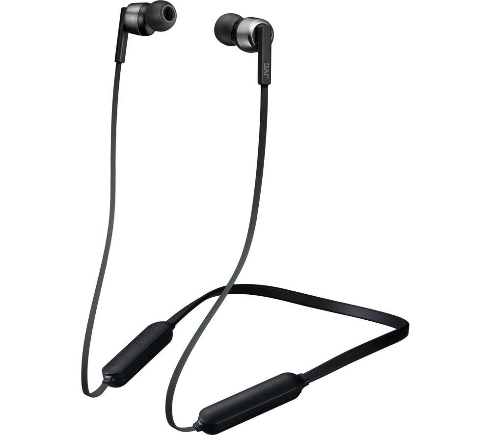 Image of HA-FX45BT-BE Wireless Bluetooth Earphones - Black, Black