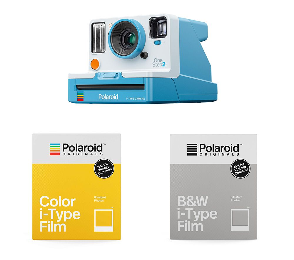 POLAROID OneStep 2 Viewfinder Instant Camera Everything Box - Summer Blue