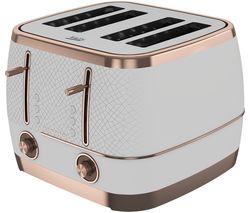 Cosmopolis TAM8402W 4-Slice Toaster - White
