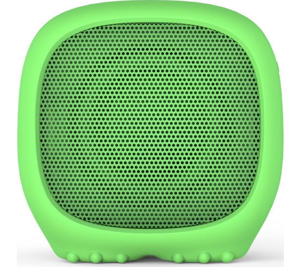 Image of KITSOUND Boogie Buddy Portable Bluetooth Speaker - Dinosaur, Green, Green