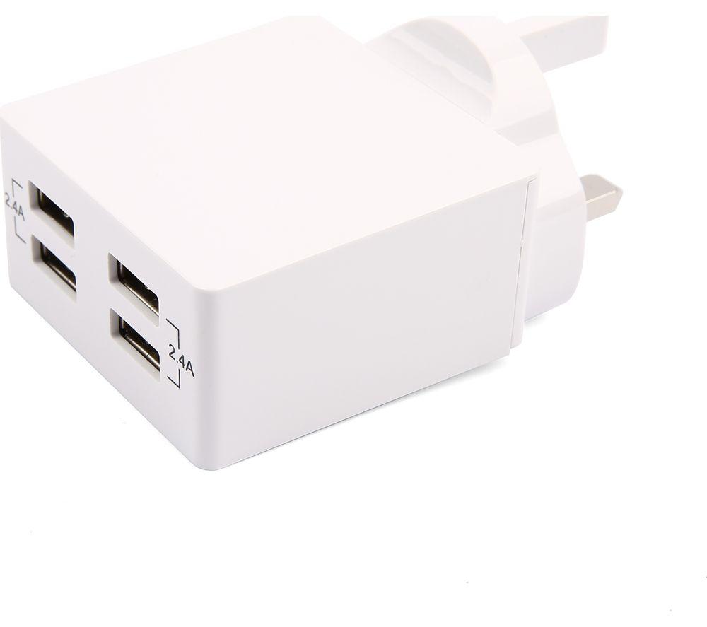 GOJI GP48MWH20 4-port USB Charger