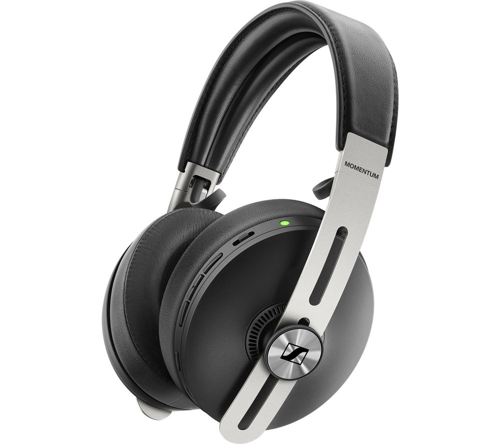 SENNHEISER Momentum Wireless Bluetooth Noise-Cancelling Headphones - Black