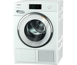 MIELE TWR860 WP WiFi-enabled 9 kg Heat Pump Tumble Dryer - White