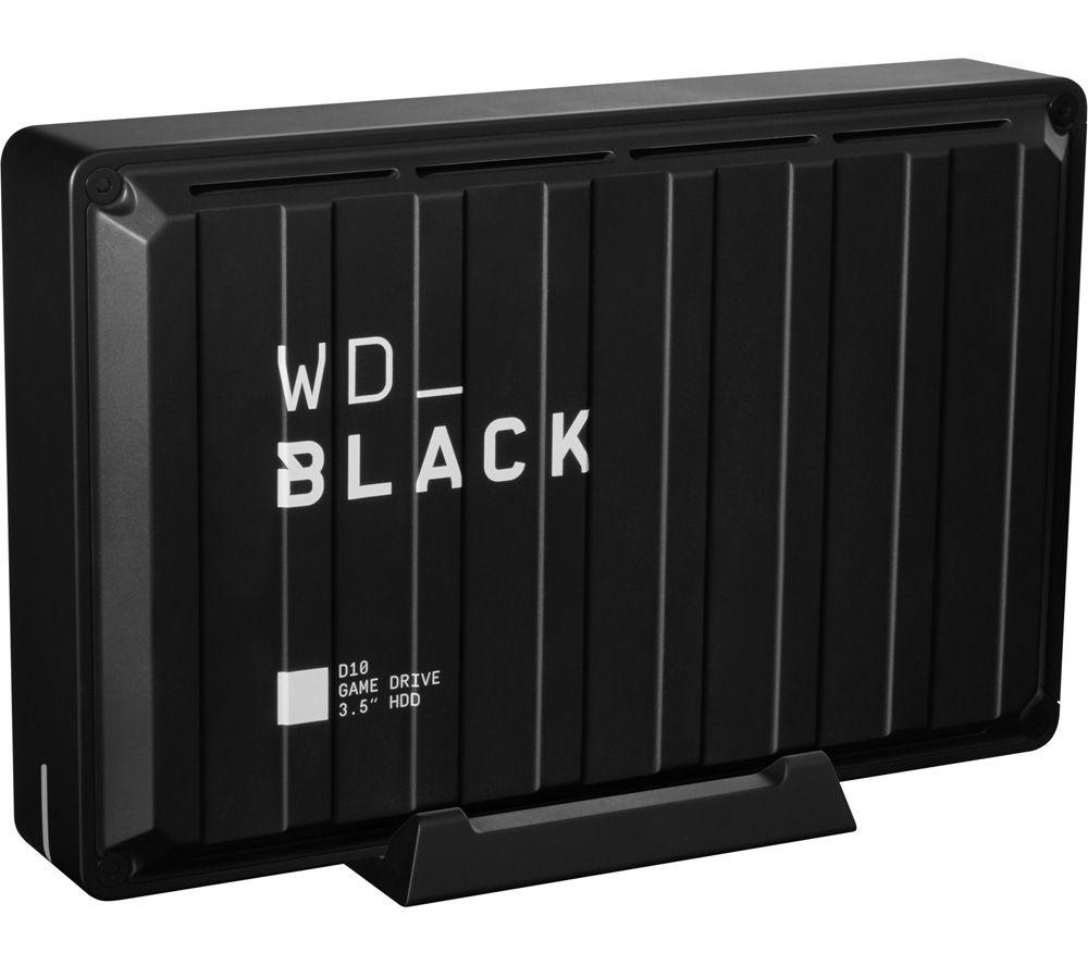 Image of _BLACK D10 External Game Drive - 8 TB, Black, Black