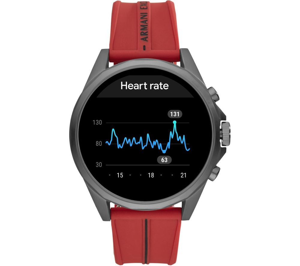 Image of AXT2006 Smartwatch - Red, Universal, Red