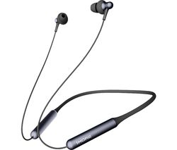 Stylish Dual-Dynamic E1024BT Wireless Bluetooth Earphones - Black