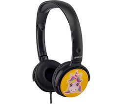 EarMOJI's GV-EMJ17 Kids Headphones - Unicorn
