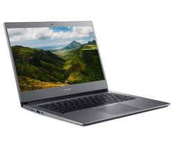 "Image of ACER 714 14"" Chromebook - Intel® Core¿ i3, 128 GB eMMC, Grey"
