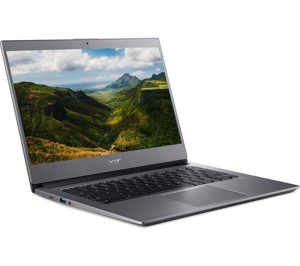 """Image of ACER 714 14"""" Chromebook - Intel® Core™ i3, 128 GB eMMC, Grey"""