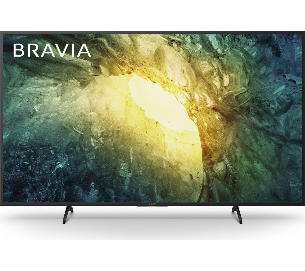 "Image of 49"" SONY BRAVIA KD49X7052PBU Smart 4K Ultra HD HDR LED TV, Sand"