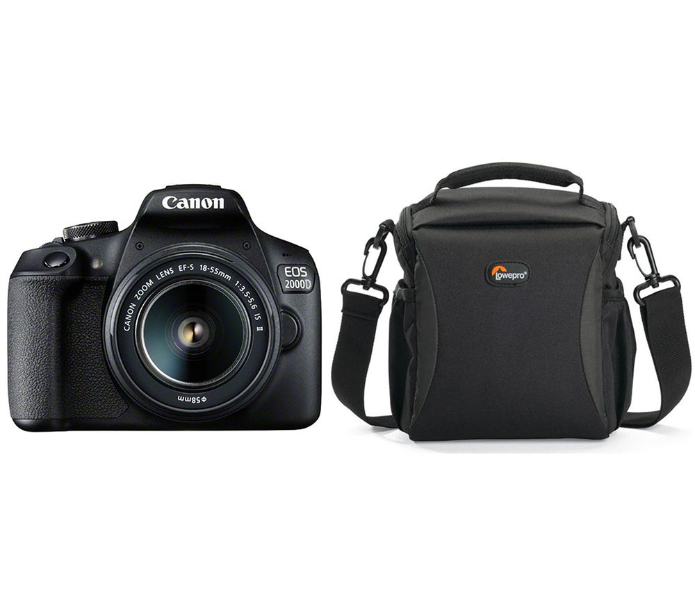 Click to view product details and reviews for Canon Eos 2000d Dslr Camera With Ef S 18 55 Mm F 35 56 Is Ii Lens Bag Bundle.