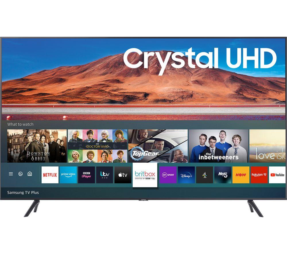 "SAMSUNG UE65TU7100KXXU 65"" Smart 4K Ultra HD HDR LED TV"
