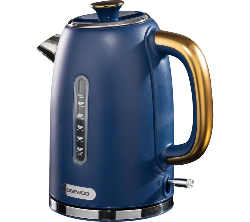 DAEWOO SDA1815 Jug Kettle - Blue