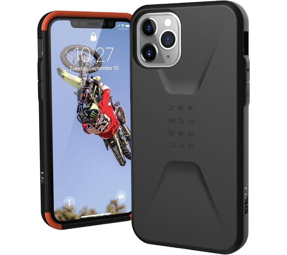 UAG Civilian iPhone 11 Pro Case - Black, Black