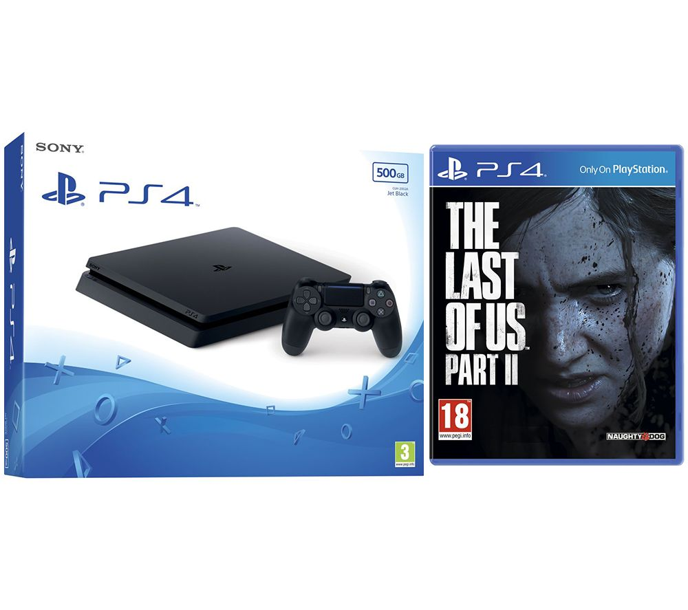 SONY PlayStation 4 500 GB & The Last of Us Part II Bundle