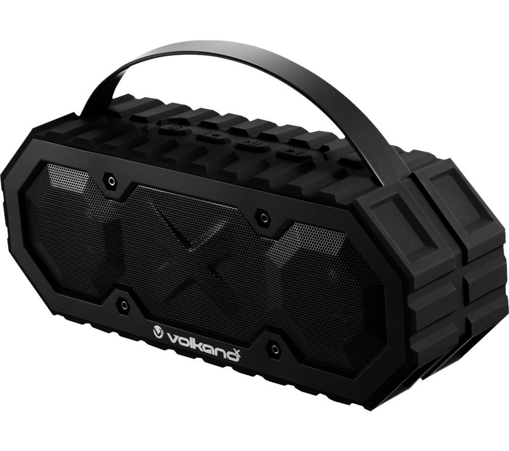 VOLKANO Typhoon Series Portable Bluetooth Speaker - Black
