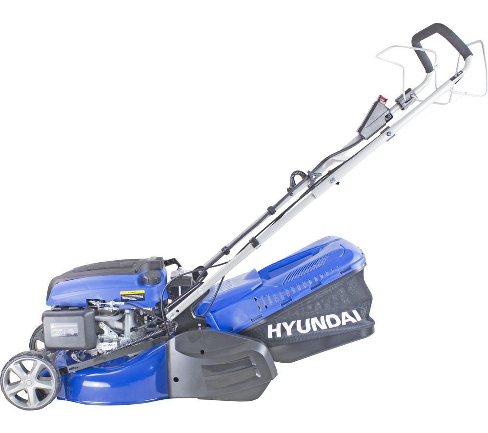 HYUNDAI HYM430SPER Cordless Rotary Lawn Mower - Blue