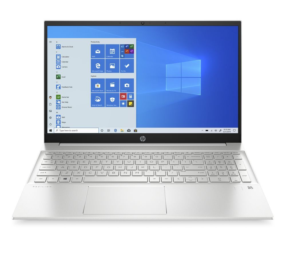 "Image of HP Pavilion 15-eh0515sa 15.6"" Laptop - AMD Ryzen 7, 512 GB, Silver, Silver"
